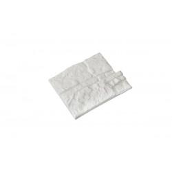 "Gypsum tiles ""Dalas"" small (pcs)"