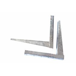 Air conditioner bracket 450mm, 2mm (stainless steel)