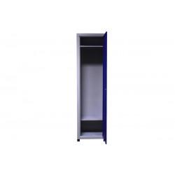 Шкаф одежный металлический 1 секция