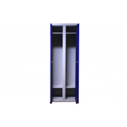 Шкаф одежный металлический 2 секции